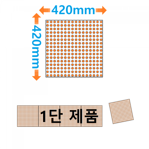420mm모듈 1단 LED전광판